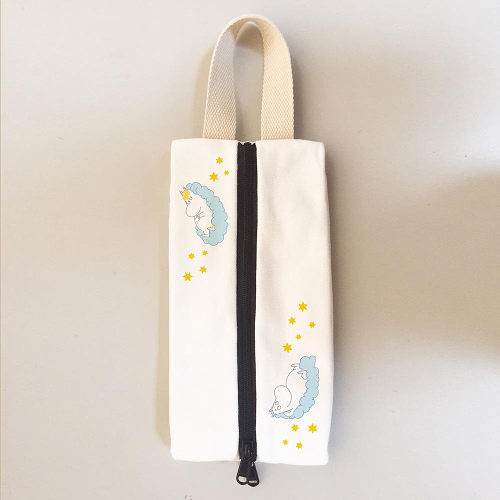 YOSHI850|Moomin嚕嚕米正版授權:多功能面紙包【02米色】