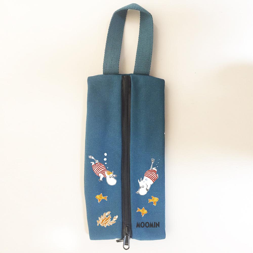 YOSHI850|Moomin嚕嚕米正版授權:多功能面紙包【03藍色】