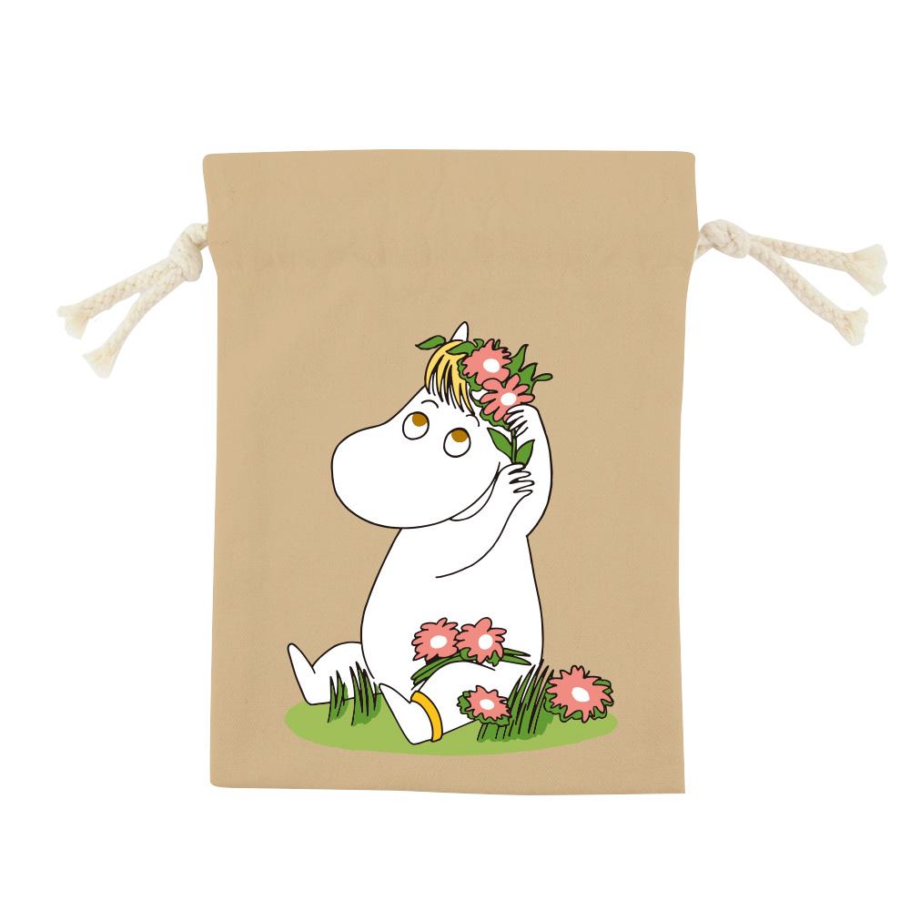 YOSHI850|嚕嚕米正版授權:彩色束口袋(中)【9款】