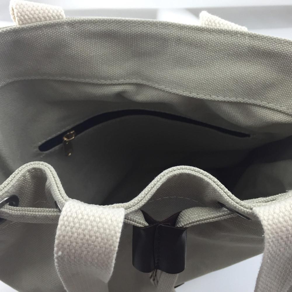 YOSHI850|嚕嚕米正版授權:束口肩背包【白】