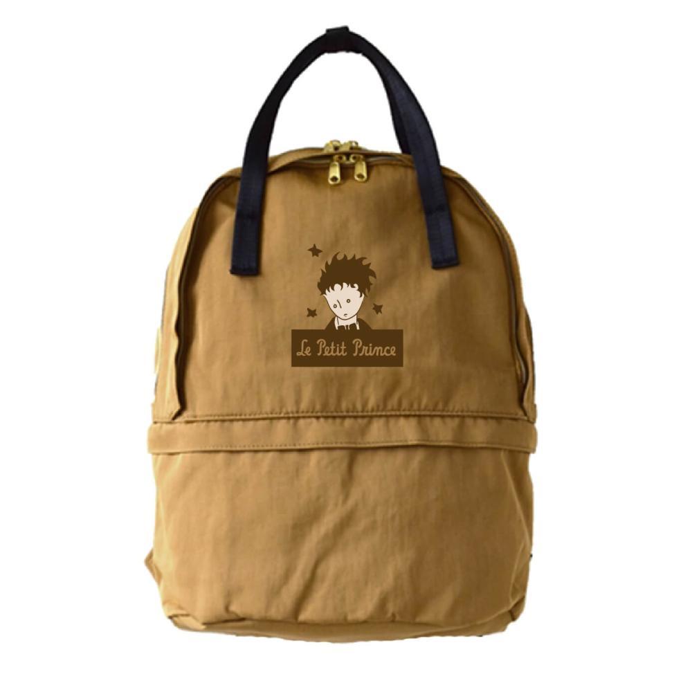 YOSHI850|小王子經典版授權:雙層後背包【卡其】