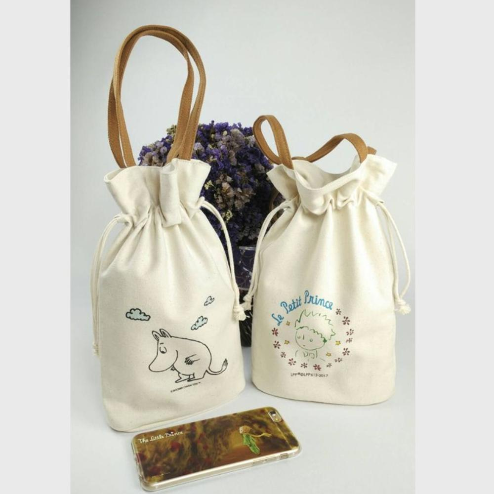 YOSHI850 小王子經典版授權:手提束口袋【大(高)】