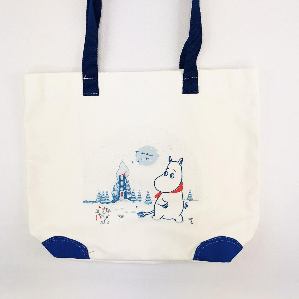 YOSHI850|嚕嚕米正版授權:船型購物包【04藍】