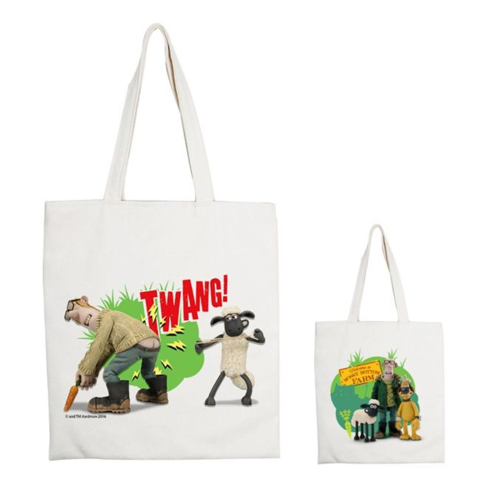 YOSHI850|笑笑羊正版授權:手提購物包【06 開心農場 】米白/麻黃