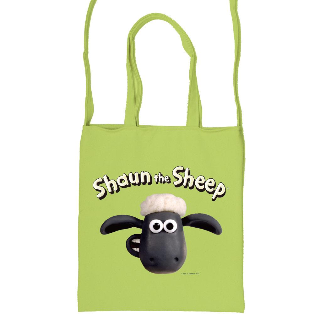 YOSHI850 笑笑羊正版授權:彩色斜背包【03 笑笑羊(果綠)】