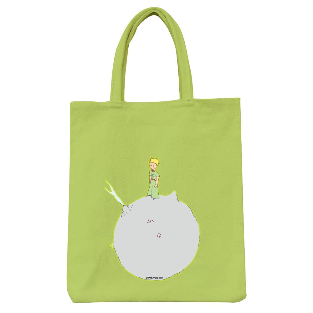 YOSHI850|小王子經典版授權:彩色野餐包【03 另一個星球(果綠)】