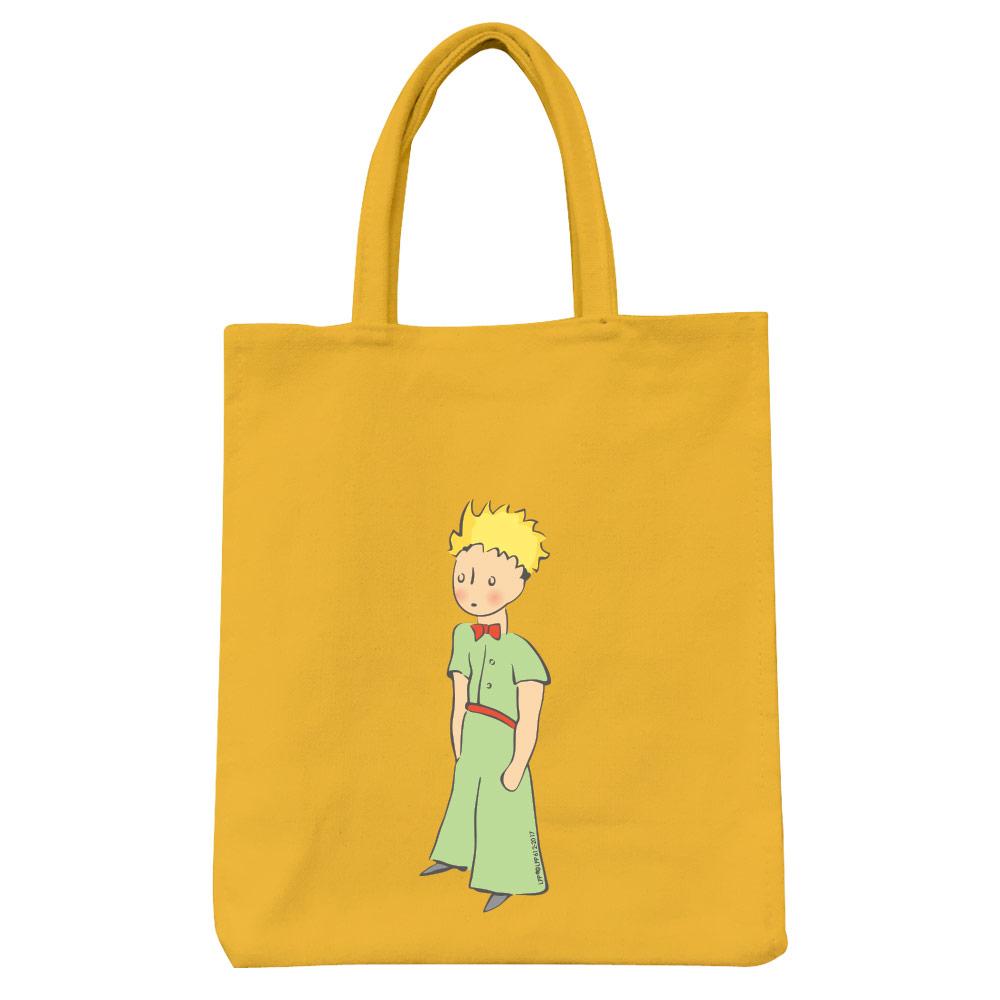 YOSHI850 小王子經典版授權:彩色野餐包【06 傻傻的小王子(黃)】