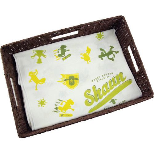 YOSHI850|笑笑羊正版授權-柔棉(單層)紗布毛巾 【Go Shaun Go!】