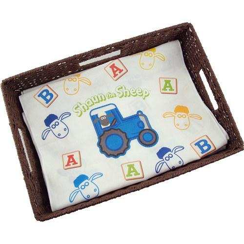 YOSHI850 笑笑羊正版授權-厚棉(雙層)紗布毛巾 【BAA!!!】