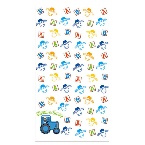 YOSHI850|笑笑羊正版授權 - 厚棉浴巾 【BAA!!!】
