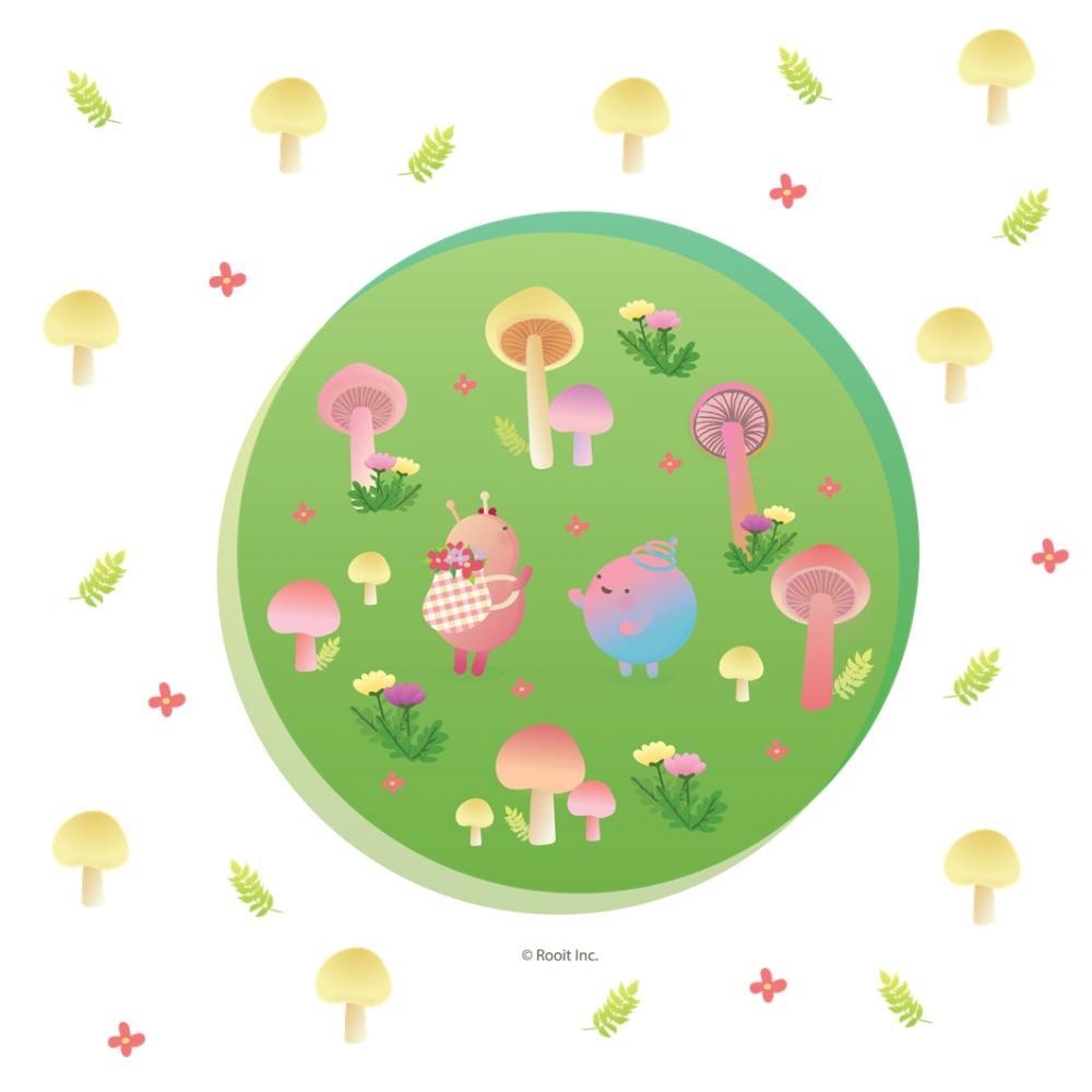 YOSHI850|新創設計師 - 沒個性星人Roo:擦手巾 【綠園冒險】