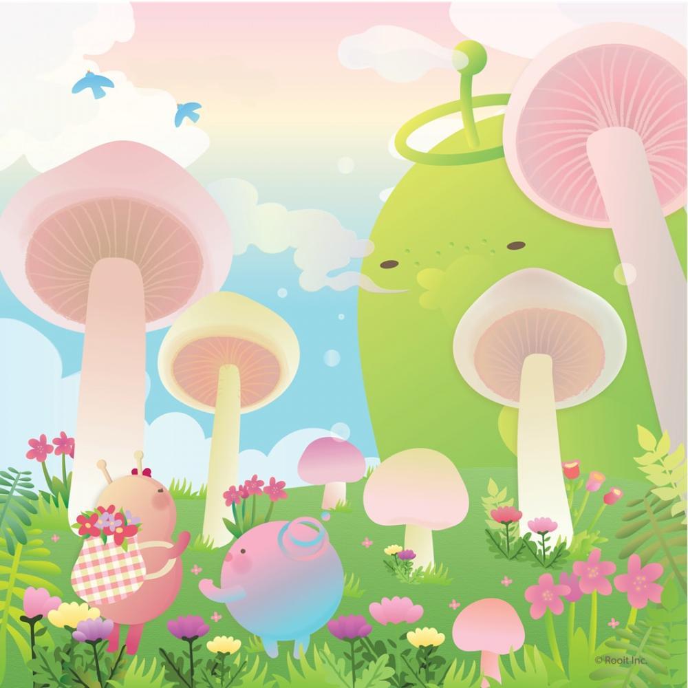 YOSHI850|新創設計師 - 沒個性星人Roo:擦手巾 【大瓜菇世界】