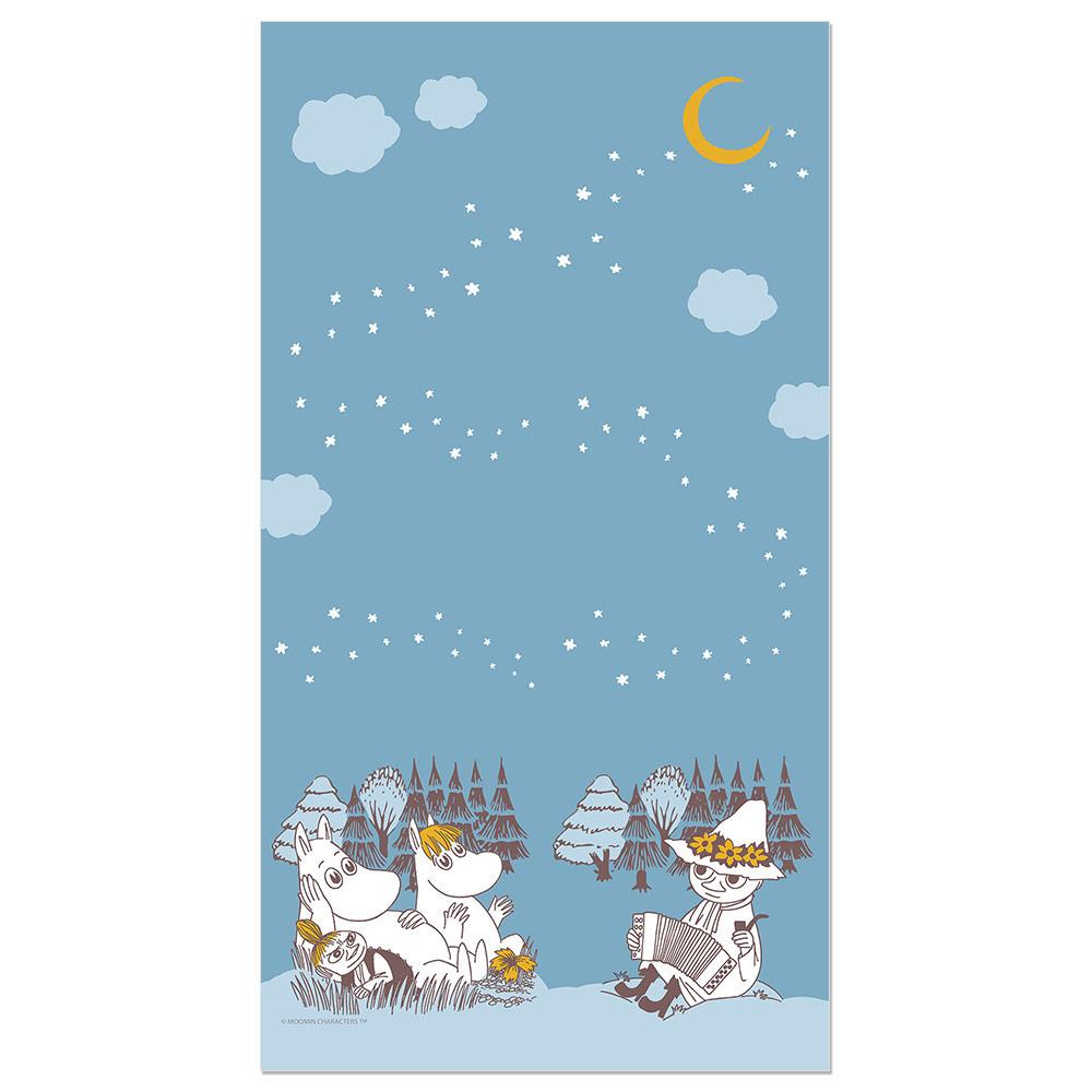 YOSHI850|Moomin嚕嚕米正版授權:彩色厚棉浴巾【02】