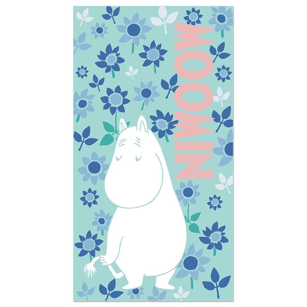 YOSHI850|Moomin嚕嚕米正版授權:彩色厚棉浴巾【04】
