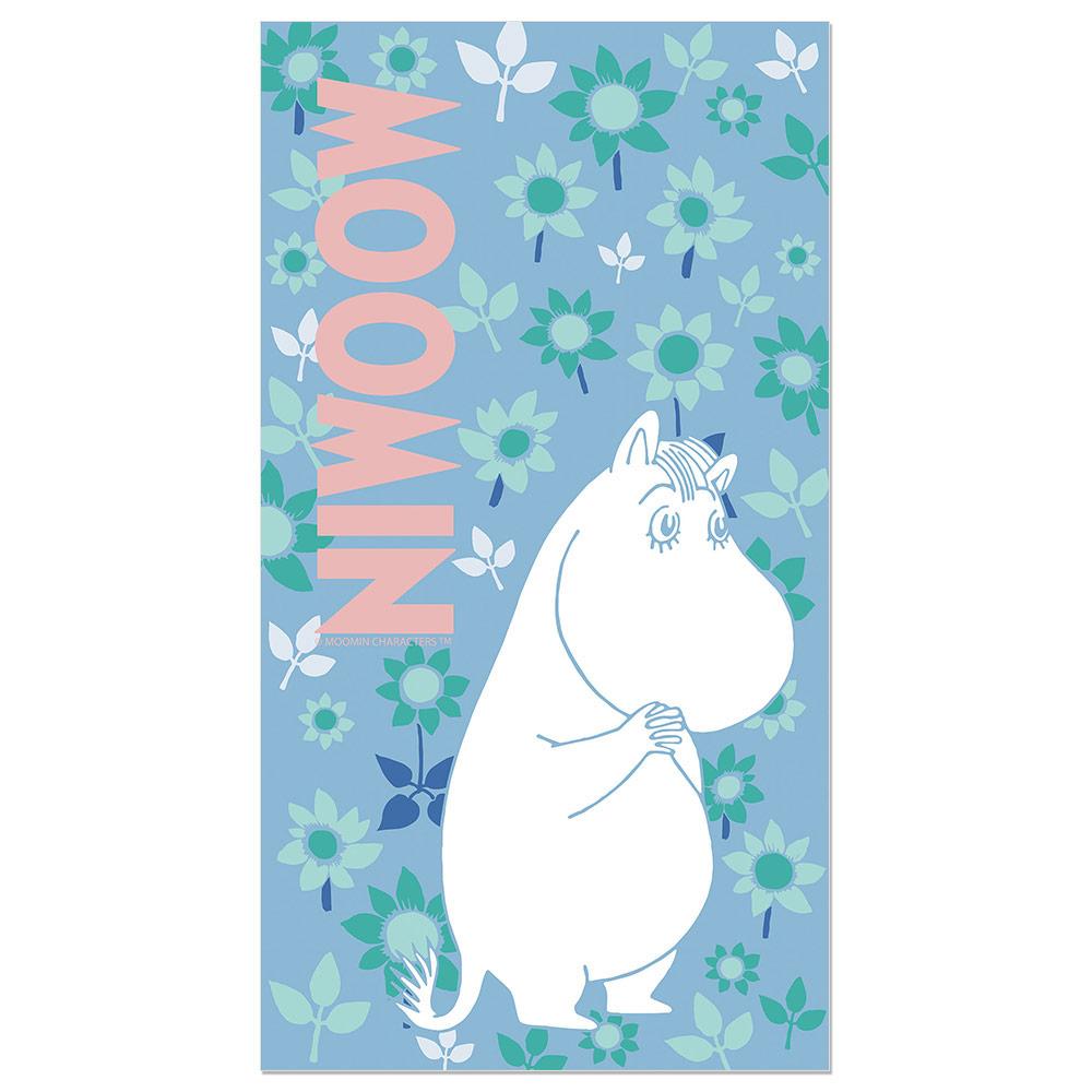 YOSHI850|Moomin嚕嚕米正版授權:彩色厚棉浴巾【06】