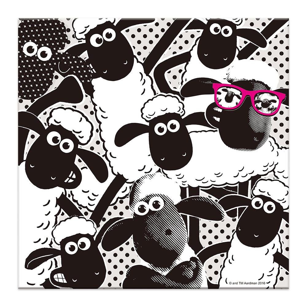 YOSHI850|笑笑羊正版授權:無框畫80*80cm【01笑笑羊(正)】