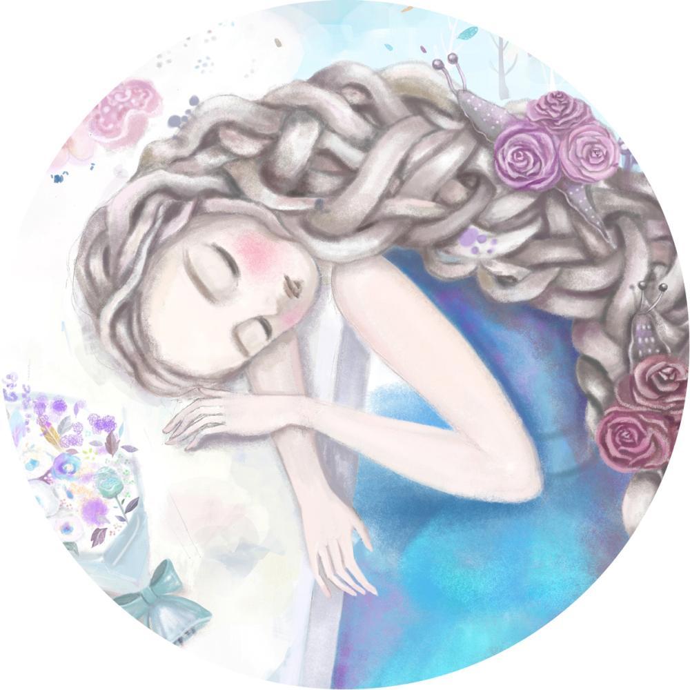 YOSHI850|手繪愛情系列:吸水杯墊【慢慢的】(方.圓)
