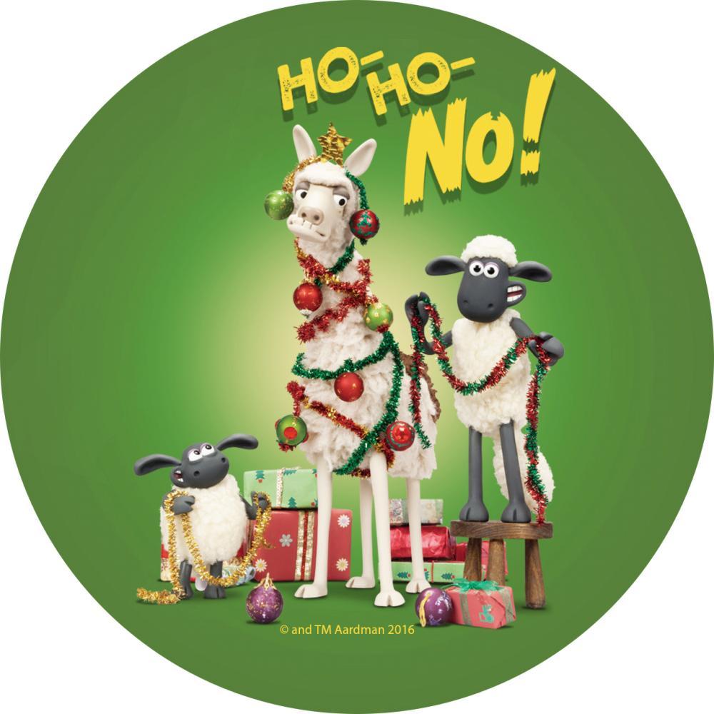 YOSHI850|笑笑羊正版授權:吸水杯墊【10 裝飾聖誕樹】(方.圓)