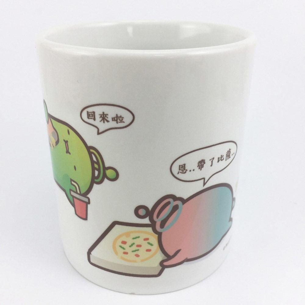 YOSHI850|新創設計師 - 沒個性星人Roo:馬克杯【02爛泥朋友】