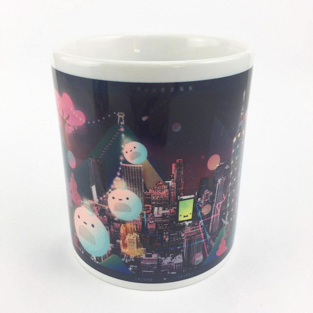 YOSHI850|新創設計師 - 沒個性星人Roo:馬克杯【05 City杯-台北】