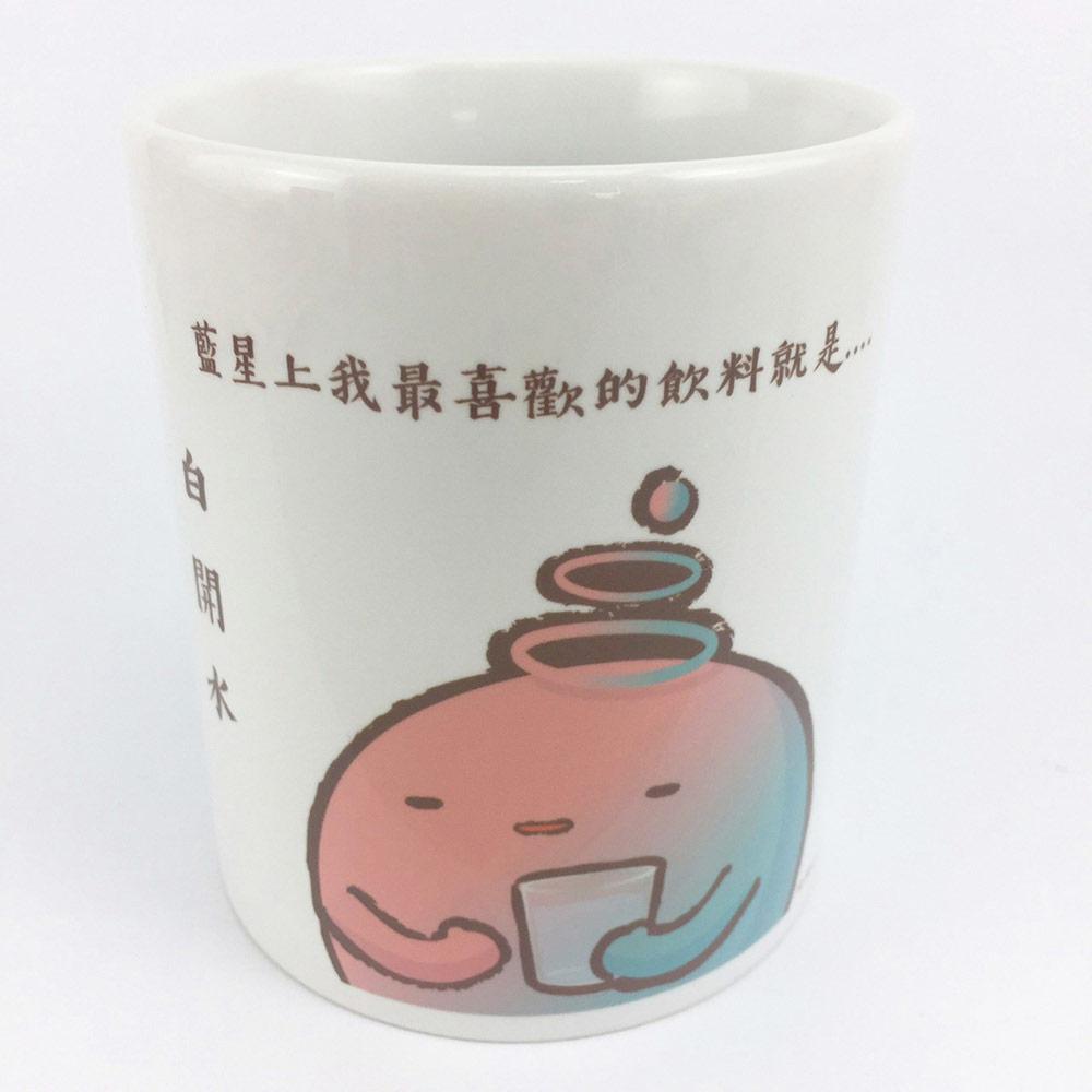 YOSHI850|新創設計師 - 沒個性星人Roo:牛奶杯【01白開水】