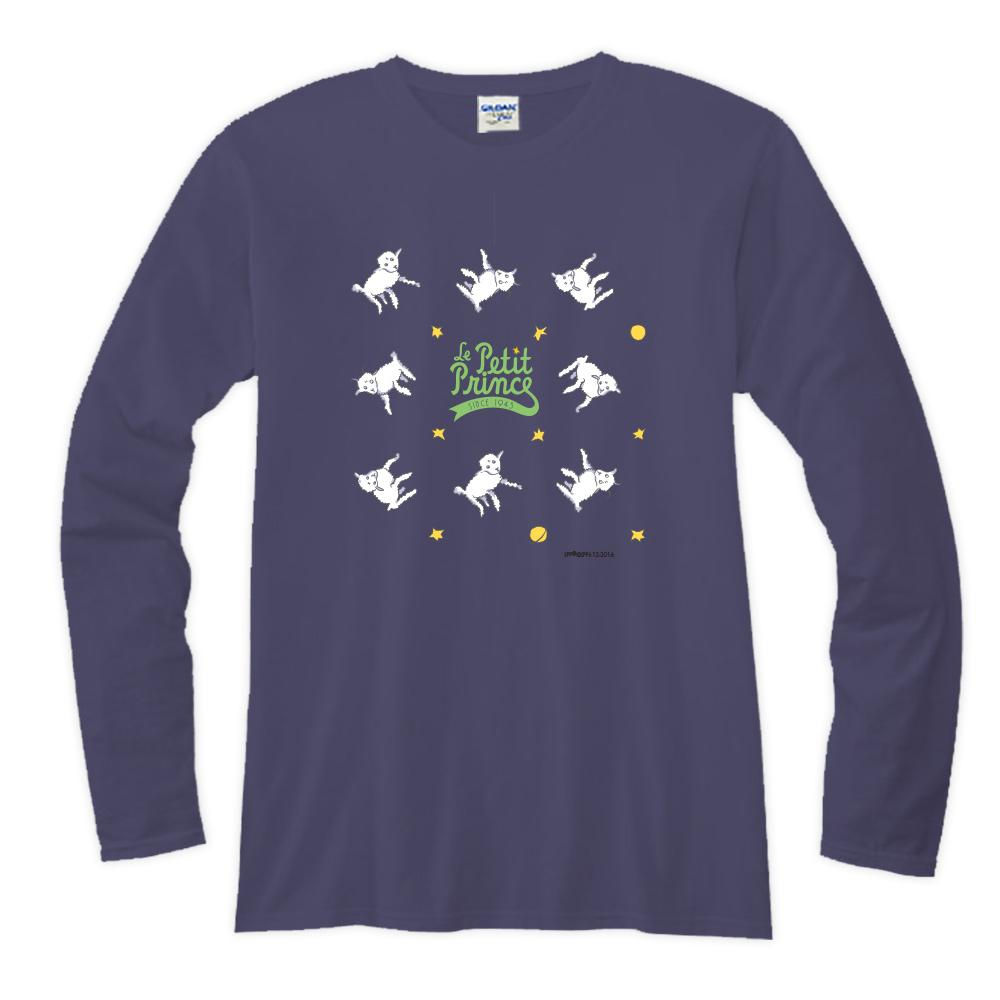 YOSHI850|小王子經典版授權【17 綿羊】長袖T-shirt (修身/中性)7種顏色