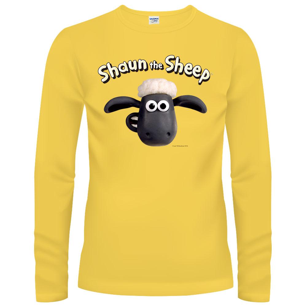 YOSHI850|笑笑羊正版授權【01 笑笑羊】長袖T-shirt (修身/中性)2種顏色