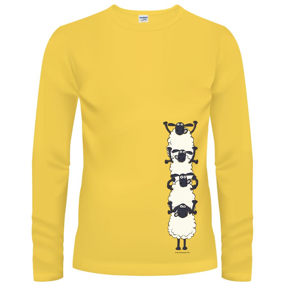 YOSHI850|笑笑羊正版授權【26 Go UP!】長袖T-shirt (修身/中性)2種顏色