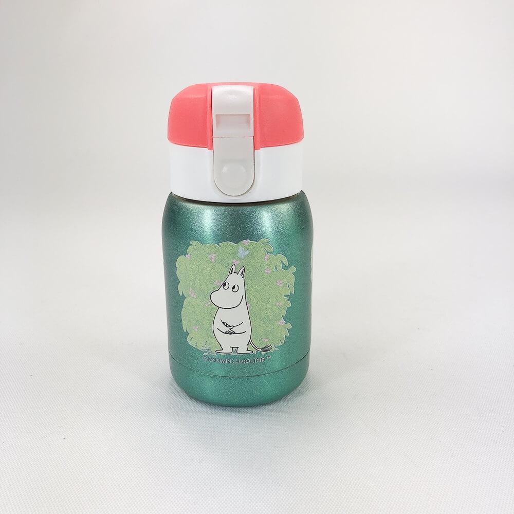 YOSHI850|Moomin嚕嚕米正版授權:亮彩迷你保溫瓶(180ml)【03 綠】