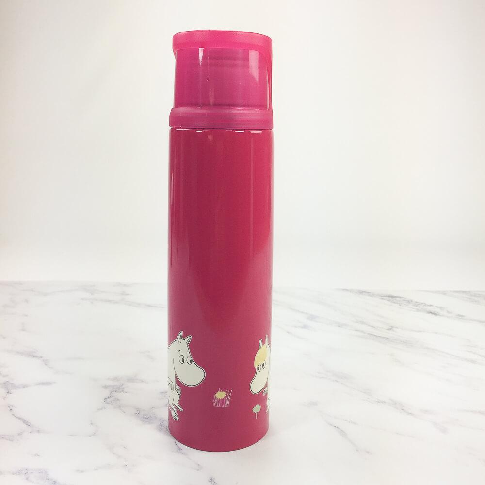 YOSHI850|Moomin嚕嚕米正版授權:杯蓋保溫瓶(小-350ml)【02 桃】