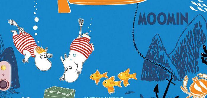 (複製)YOSHI850|Moomin嚕嚕米正版授權:多功能面紙包【02米色】