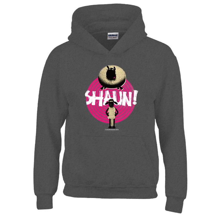 (複製)YOSHI850|笑笑羊正版授權:帽T【電視機】成人長袖 T-shirt (石楠灰)