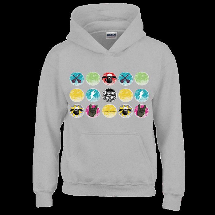 (複製)YOSHI850|笑笑羊正版授權:帽T【滑倒的雪莉】成人長袖 T-shirt (寶石藍)