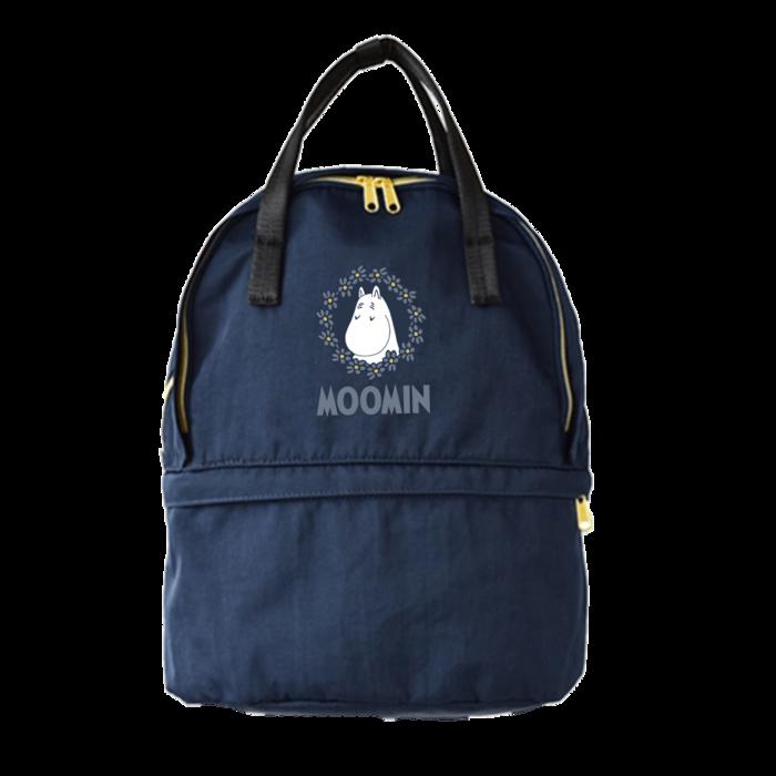 (複製)YOSHI850|嚕嚕米正版授:雙層後背包【綠】