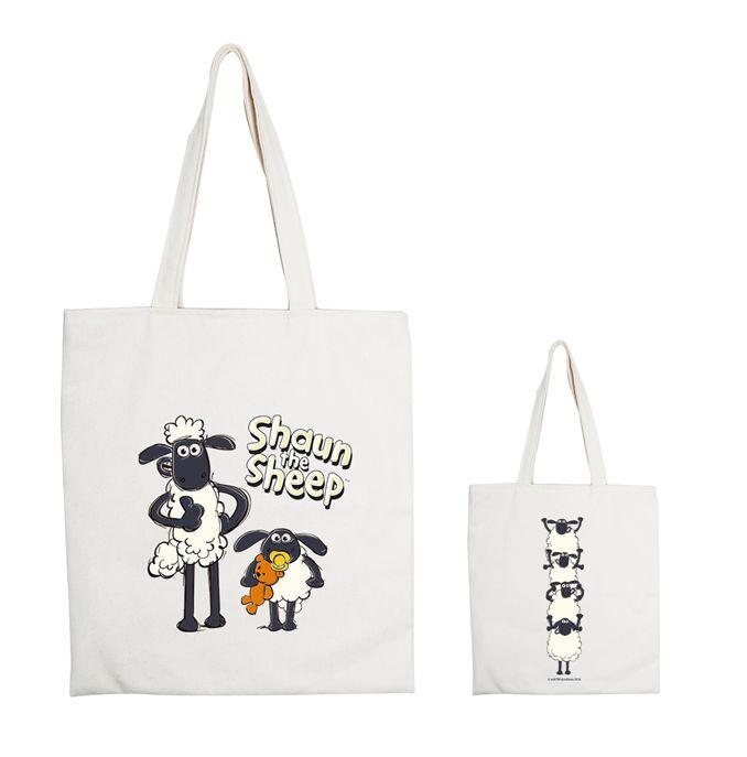 (複製)YOSHI850 笑笑羊正版授權:手提購物包【02 Vogue 】米白/麻黃