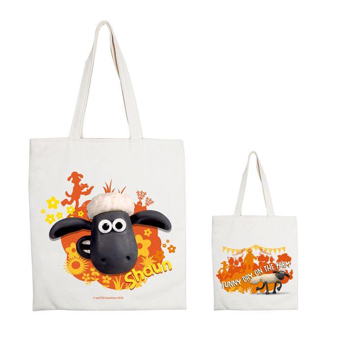 (複製)YOSHI850 笑笑羊正版授權:手提購物包【09 點心派對 】米白/麻黃
