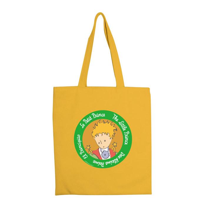(複製)YOSHI850|小王子經典版授權:彩色手提購物包【玫瑰花園(粉紅)】