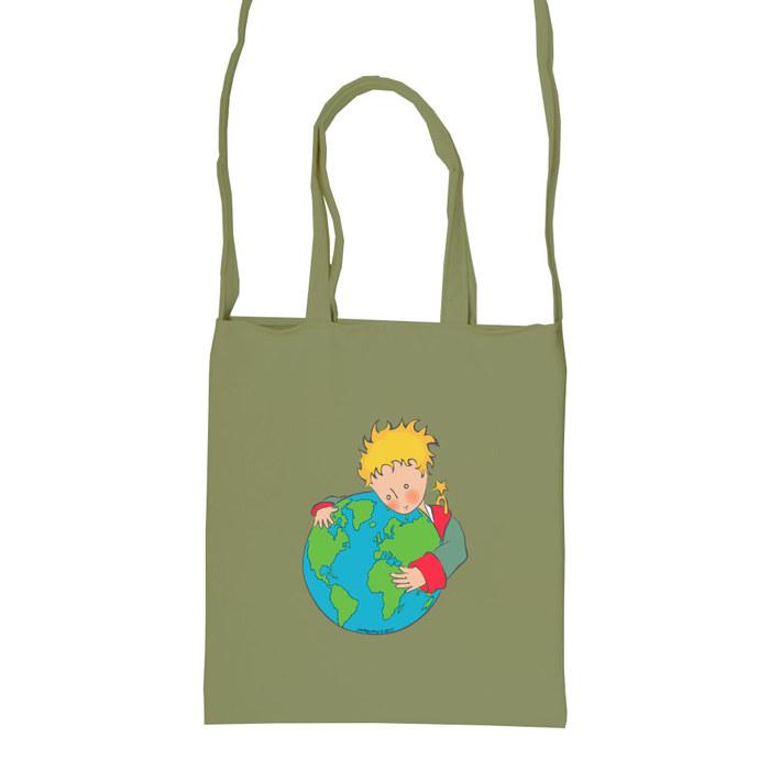 (複製)YOSHI850|小王子經典版授權:彩色斜背包【03 另一個星球(果綠)】