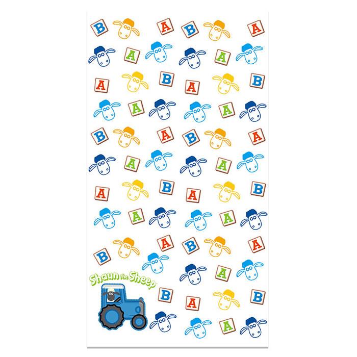 (複製)YOSHI850|笑笑羊正版授權 - 厚棉浴巾 【Go Shaun Go】