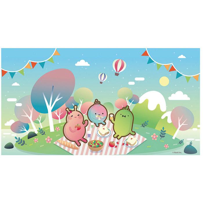 (複製)YOSHI850|笑笑羊正版授權:彩色厚棉浴巾【02】