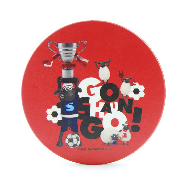 (複製)YOSHI850|笑笑羊正版授權:吸水杯墊【02 衝啊!】(方.圓)