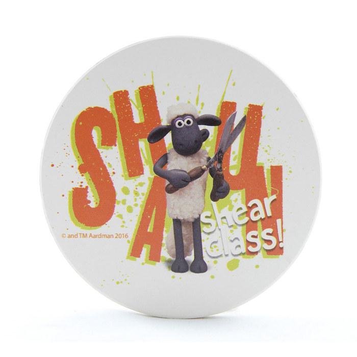 (複製)YOSHI850|笑笑羊正版授權:吸水杯墊【04 放輕鬆】(方.圓)