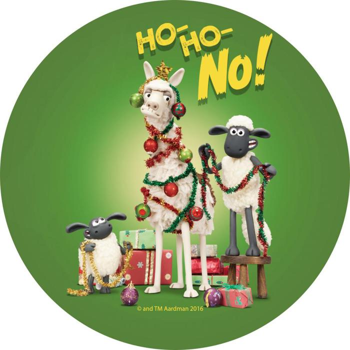 (複製)YOSHI850|笑笑羊正版授權:吸水杯墊【09 merry Christmas】(方.圓)