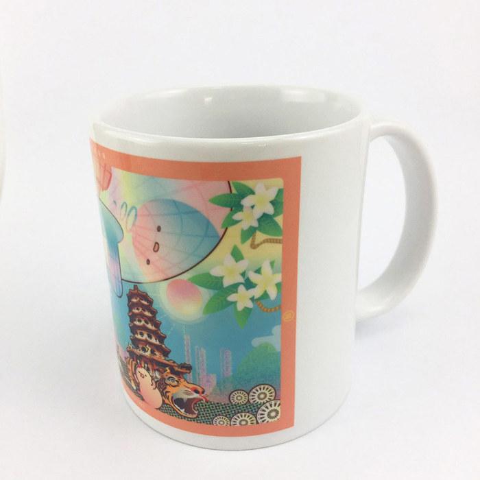 (複製)YOSHI850|新創設計師 - 沒個性星人Roo:馬克杯【05 City杯-台北】