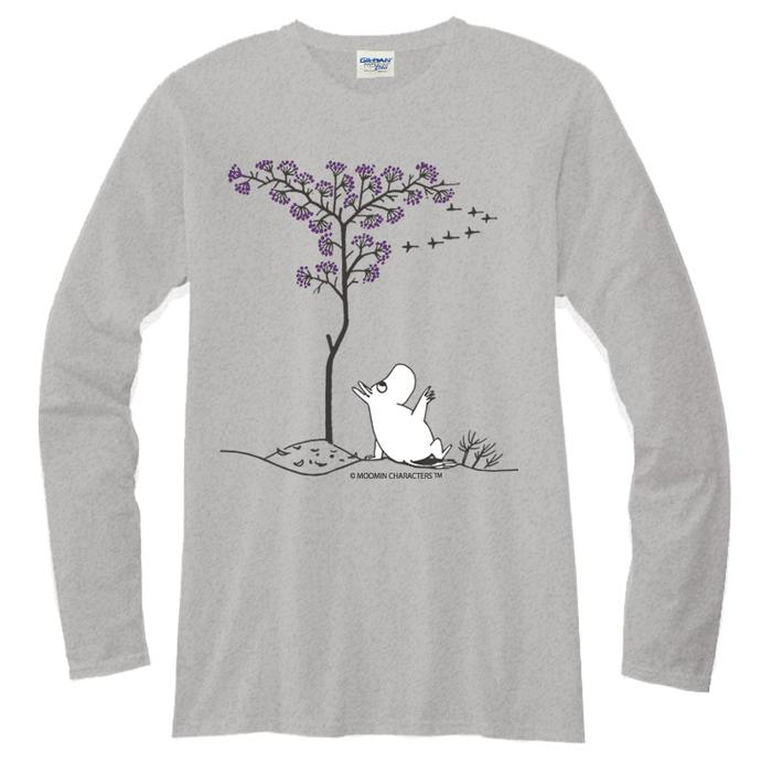 (複製)YOSHI850|Moomin嚕嚕米正版授權【04 Happy Family】長袖T-shirt (修身/中性)黑色