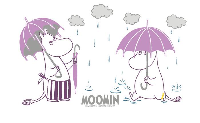 (複製)YOSHI850|Moomin嚕嚕米正版授權:彩色提帶可愛造型保溫瓶(350ml)【01 粉白】