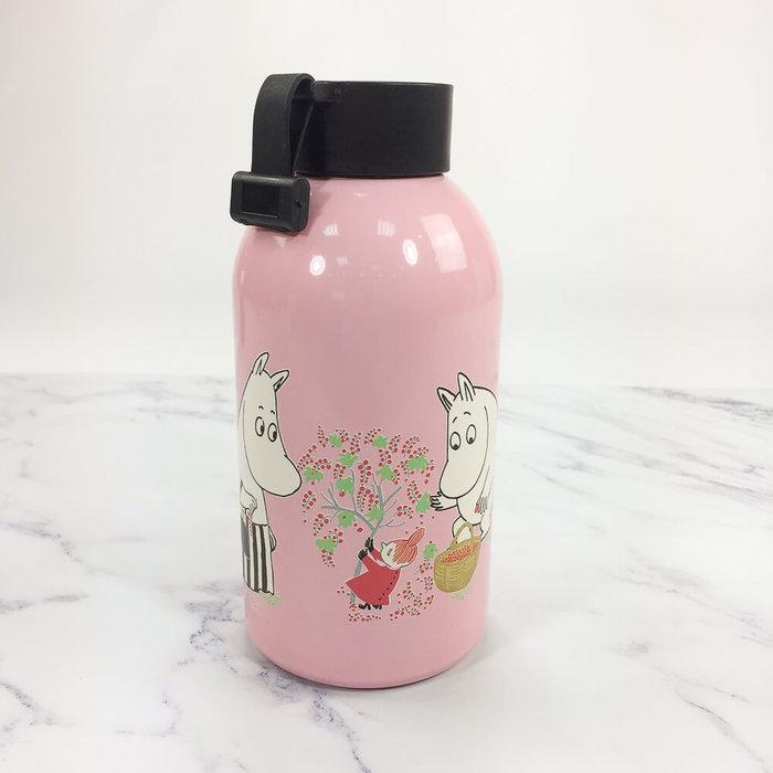 (複製)YOSHI850|Moomin嚕嚕米正版授權:大容量不鏽鋼保溫瓶(650ml)【01 白】