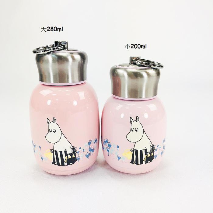 (複製)YOSHI850 Moomin嚕嚕米正版授權:時尚造型迷你保溫瓶(小-200ml)【01 玫紅】