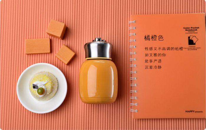 (複製)YOSHI850|笑笑羊正版授權:時尚造型迷你保溫瓶(小-200ml)【02 粉紅】