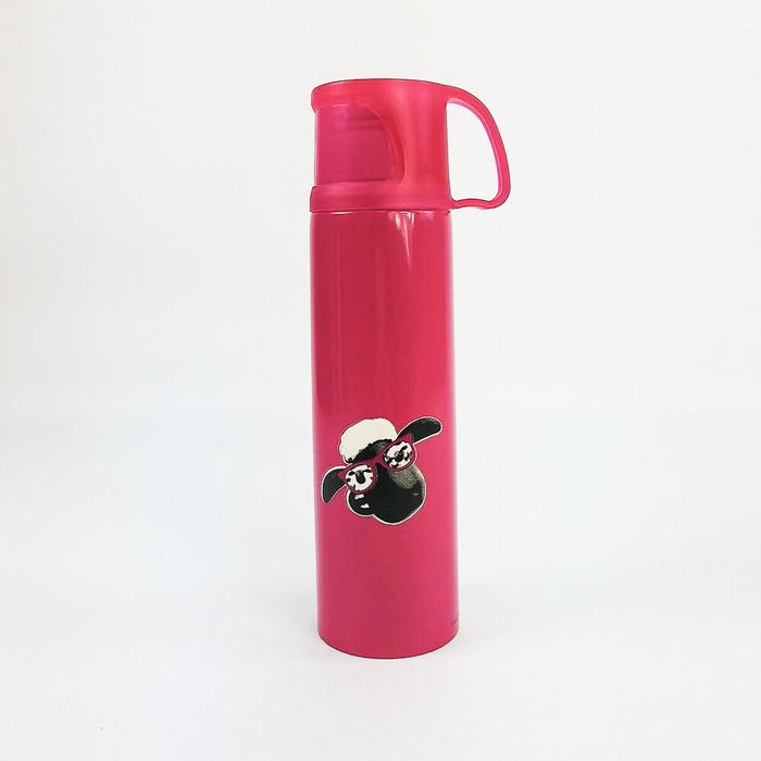 (複製)YOSHI850|笑笑羊正版授權:杯蓋保溫瓶(小-350ml)【01 白】